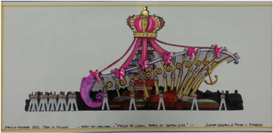 Bram van Leeuwen, Prins de Lignac,Baron du bateau D'or