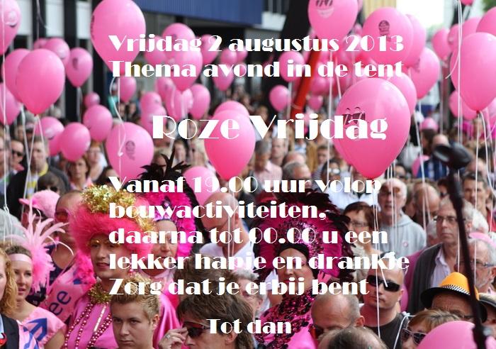 roze vrijdag